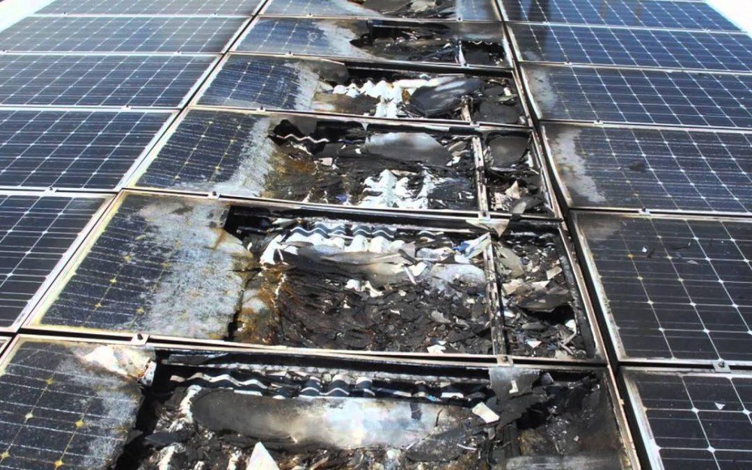 Risico op zonnepanelen brand? Ecotec Solar neemt geen risico's.